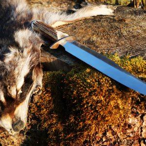 Handgeschmiedetes Jagdmesser – Einzelstück Messernummer B11