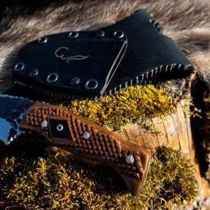 Handgeschmiedetes Jagdmesser – Einzelstück Messernumer B04
