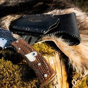 Handgeschmiedetes Jagdmesser – Einzelstück Messernumer B03